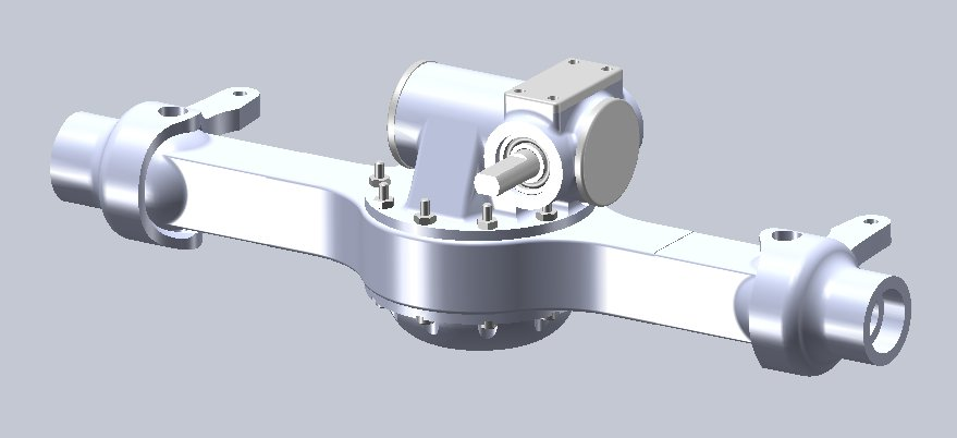 new rockwell looking scale axle from rc4wd