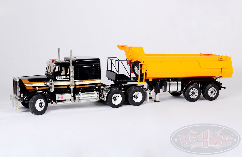 1/14 Earth Mover 490 Hydraulic End Dump Tipper for Tamiya ...