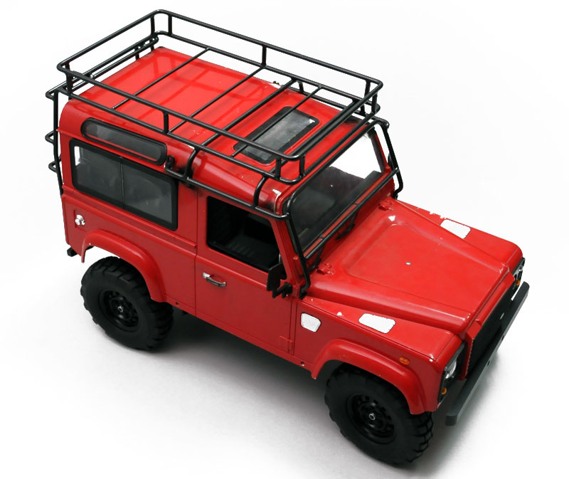 1/10th RC4WD Adventure Metal Roof Rack Land Rover Defender