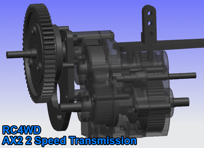 AX2 2 ax2 2 speed transmission for axial wraith & scx10 honcho axial wraith wiring diagram at aneh.co