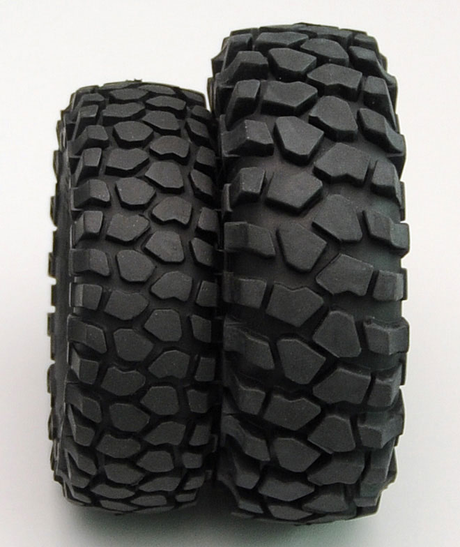 hardcore scale tire pbnk