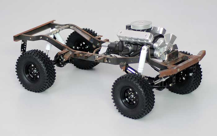 Sneak Preview - Fracture FJ40 with V8 engine - Scale 4x4 R ...