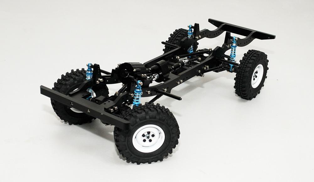 Gelände 1/10 Scale Defender D110 Vehicle Kit - Scale 4x4 R ...