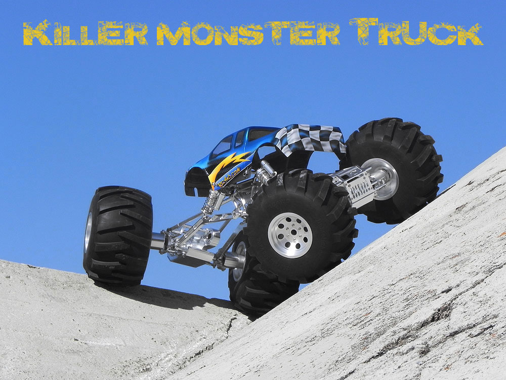 RC4WD 1/4 Large Scale Killer Monster Truck Kit