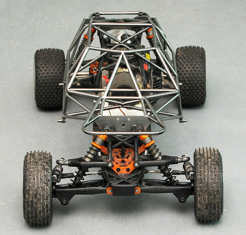 how to build a trophy truck frame
