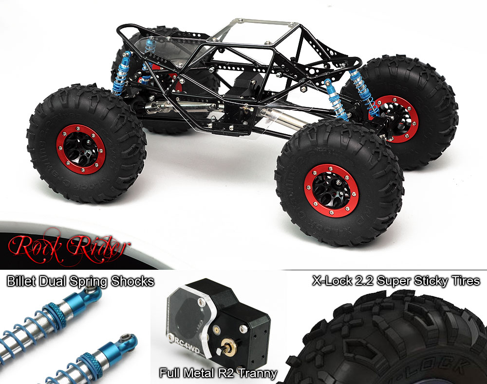 Rock Rider 1/10 Rock Crawler Prebuild ARTR - RC4WD Forums