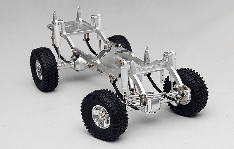 rc4wd: Trail Finder 1/10 4x4 Off-Road Scale Truck Kit (Silver) Part ...