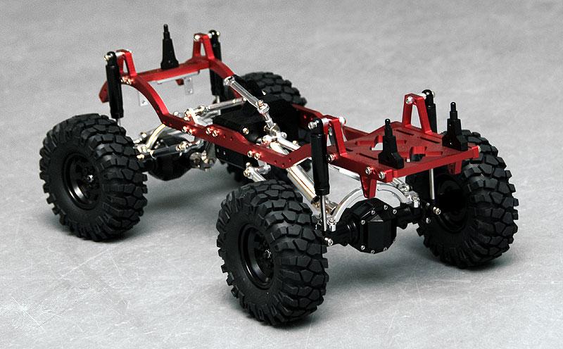 rc4wd: Trail Finder 1/10 4 Link Truck Kit (Red) Part Number Z-K0021