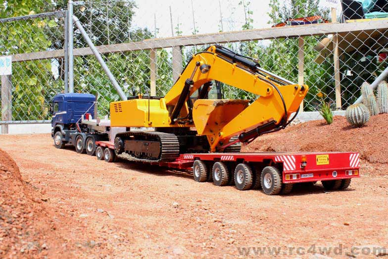 1 12 Scale Earth Digger 4200xl Hydraulic Excavator Rtr
