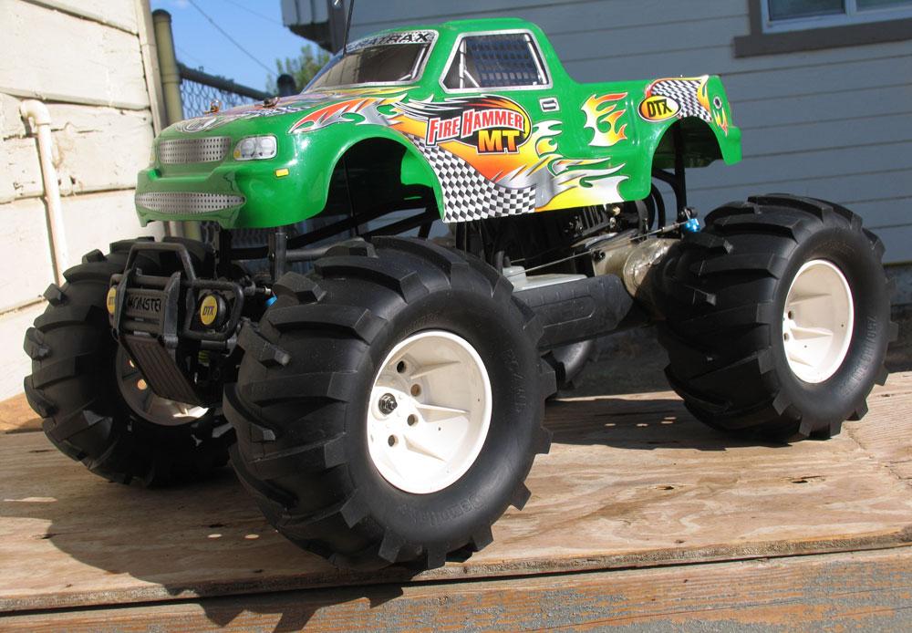 "Tire Size Comparison >> (KK2) Demolisher Monster Truck 40 Series 3.8"" Tires"